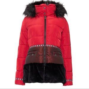 NEW Desigual Padded Sakari Puffer Jacket Coat size 38 4 new with tags